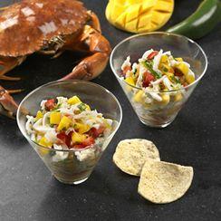 Crab-Mango Cocktail