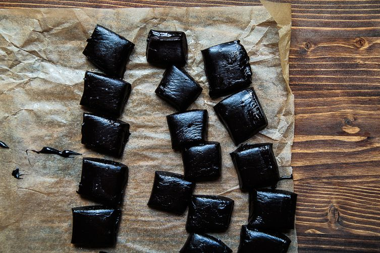 Homemade Black Licorice