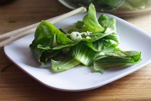 Baby Bok Choy Salad