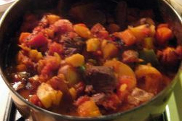 Savory winter Beef Stew