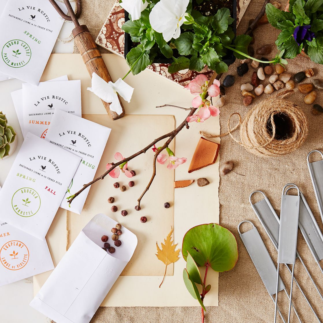 Year round Potager Garden Seed Set on Food52