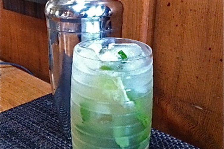 Fauxjito cocktail