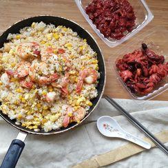 Shrimp Garlic Fried Rice