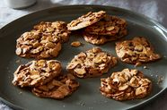 Dorie Greenspan's 3-Ingredient Almond Crackle Cookies