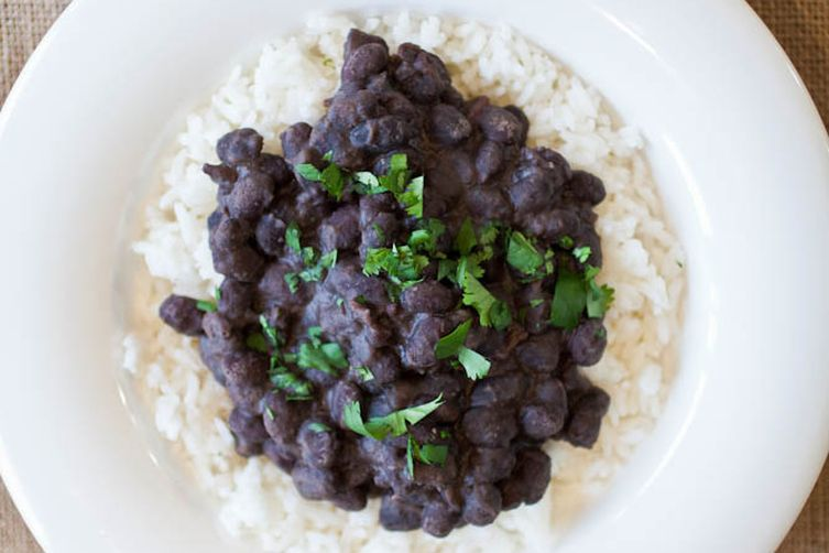 Simple Black Beans & Rice