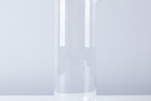 Handblown Simple Glass Pitcher