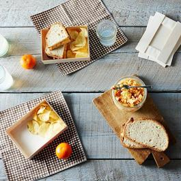 Collapsible Wooden Plates (Set of 20)