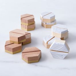 Geometric Placecard Holders (Set of 6)