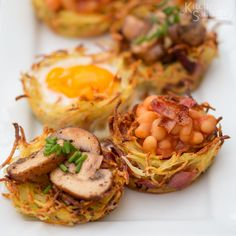 Hash Brown Breakfast Bakes