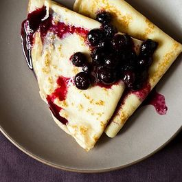 Bl-Berry Crepes by Elaine Sabih