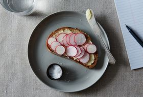 Radish and Butter Tartines