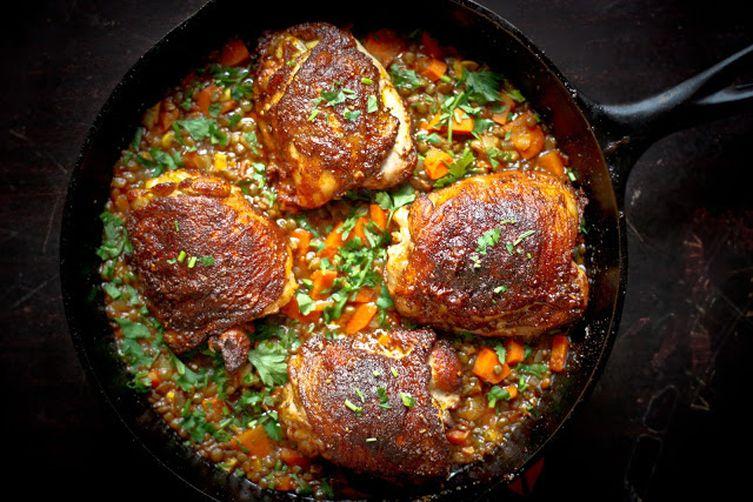 Crispy Berbere Chicken