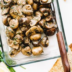 Oven-Roasted Dijon Mushrooms