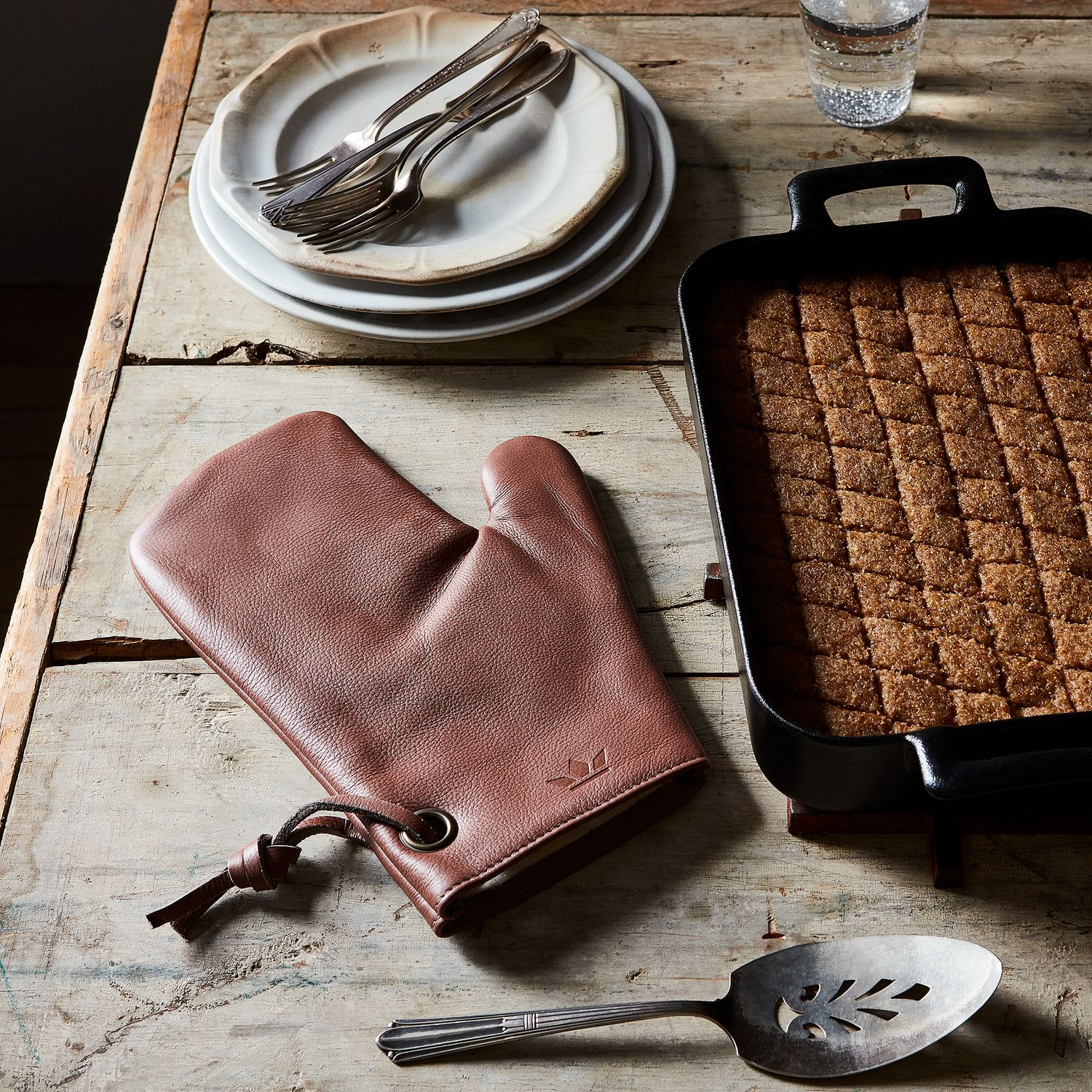 Dutch Leather Oven Mitt On Food52