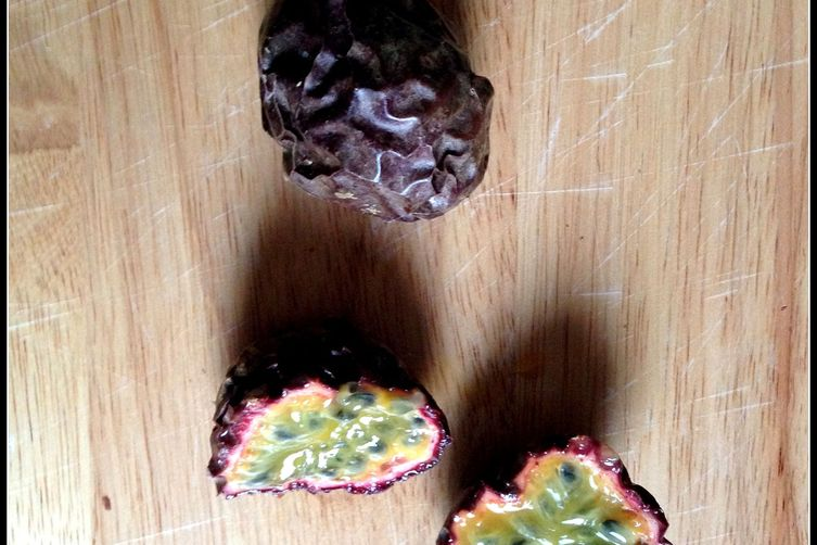 Vegan Passion Fruit Truffles