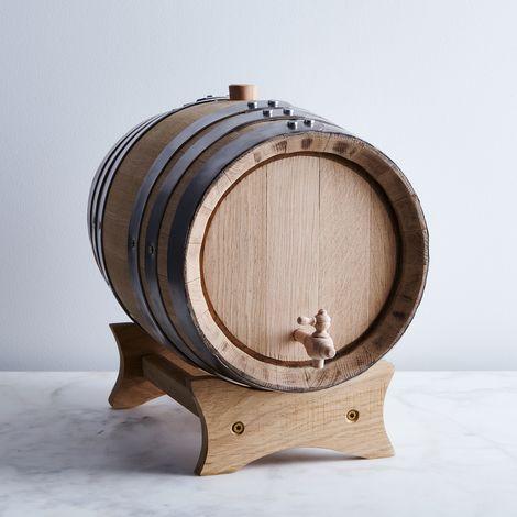 Wine-Grade Charred Oak Aging Barrel