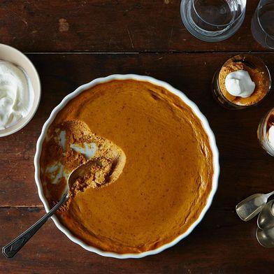 Pumpkin Pudding (a.k.a. No-Pie Pumpkin Pie)