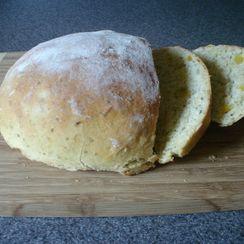 Apricot Sage Semolina Bread