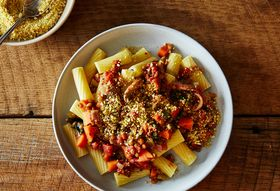 A Humble but Mighty Lentil Bolognese
