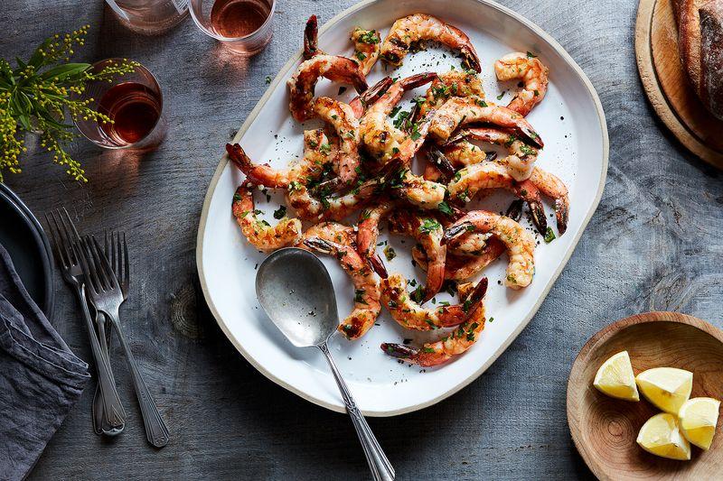 J. Kenji López-Alt's Grilled Shrimp Scampi-ish With Garlic and Lemon