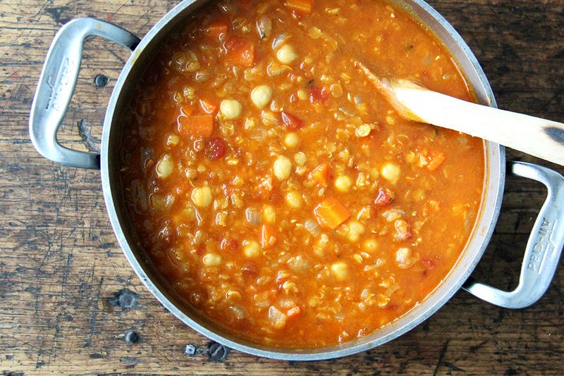 Curried Lentil and Chickpea Soup Recipe That Comes Together Fast—in ...