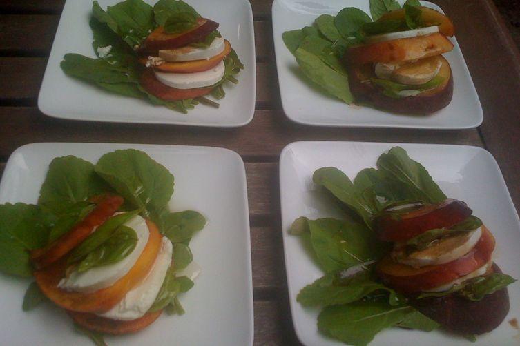 'Georgia Caprese' Salad