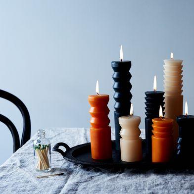 Totem Pillar Candles (Set of 3)