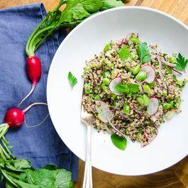 Edamame and Quinoa Salad