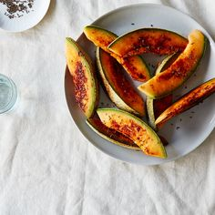 Seared Cantaloupe and Caraway