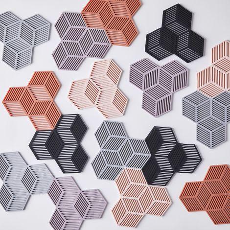 Modular Silicone Coasters (Set of 4)