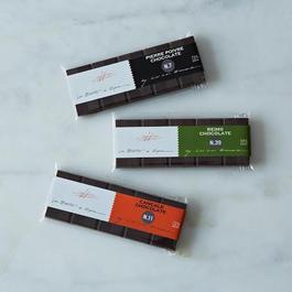 La Boîte Limited Edition Chocolate Bars, Set of 3
