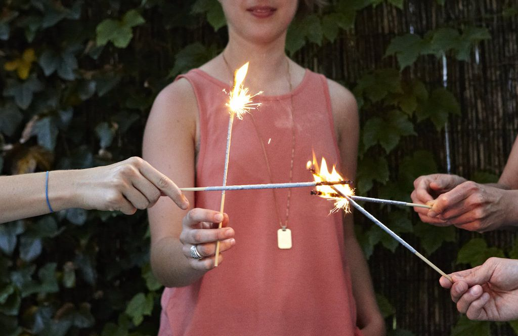 DIY Sparklers