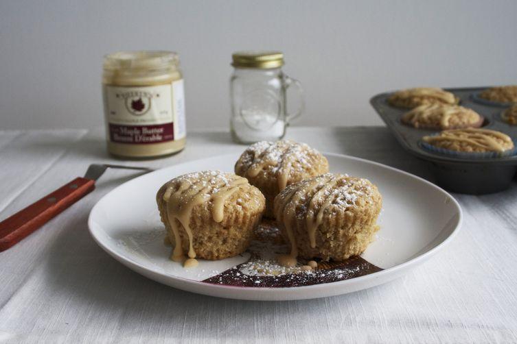 maple oatmeal muffins.