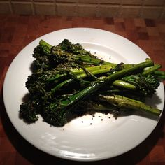 Lacquered Stir Fry Broccolini