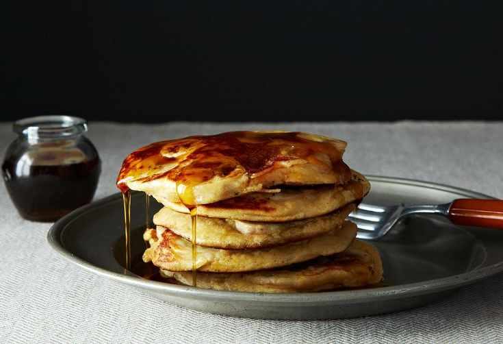 Dinner Tonight: Wholesome Pancakes + Brussels Sprouts Salad