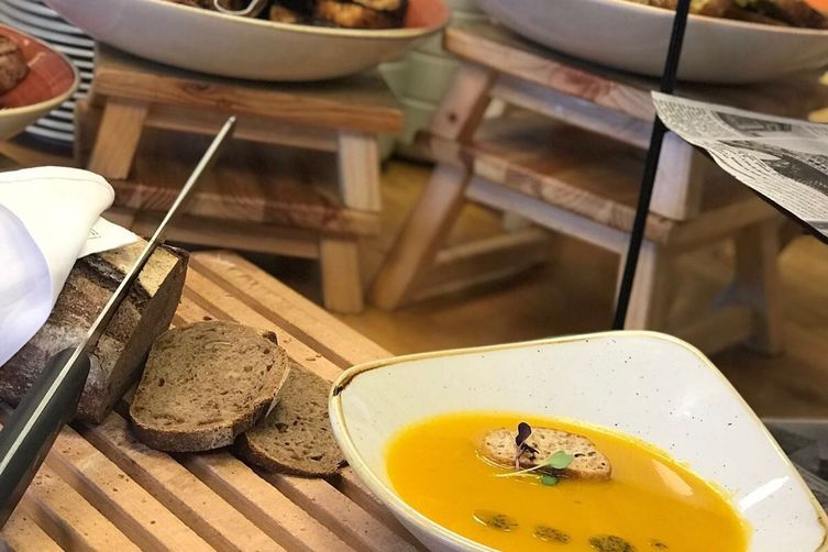 The Inbal's Orange Vegetable Soup