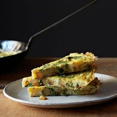 Dinner Tonight: Butternut Squash Soup + Turnip Greens Frittata