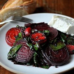 """Dinner Tonight: French """"Peasant"""" Beets"""