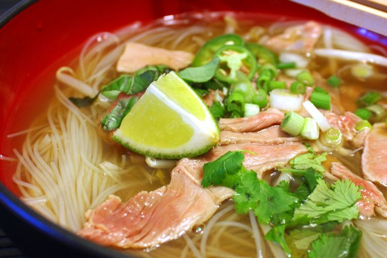 Cheater Pho Bo (Vietnamese Beef Noodle Soup)