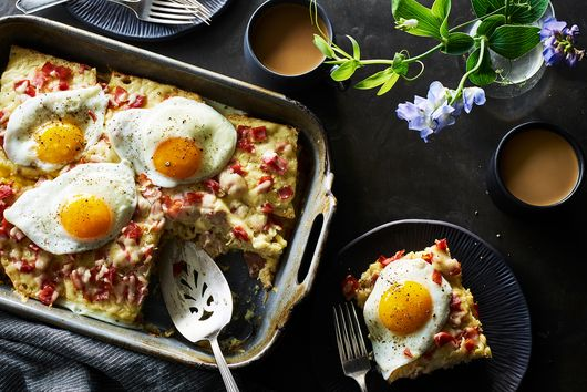 Croque Madame Hot Dish