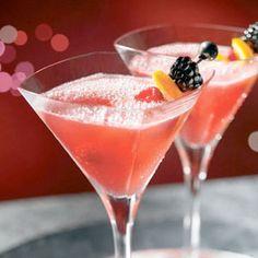 Pink soft drink