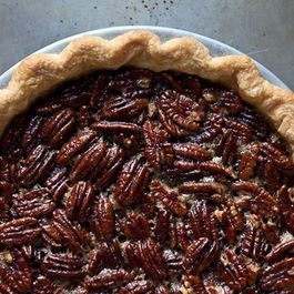 Melissa Clark's Spiced Maple Pecan Pie with Star Anise