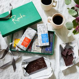 Small-Batch Organic Chocolate Library Gift Box