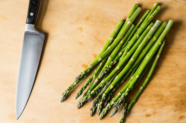 Asparagus ready