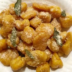 Butternut Squash Gnocchi with Browned Butter, Garlic and Sage