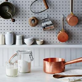 Mauviel M'passion Copper Sugar Saucepan, 1.9QT