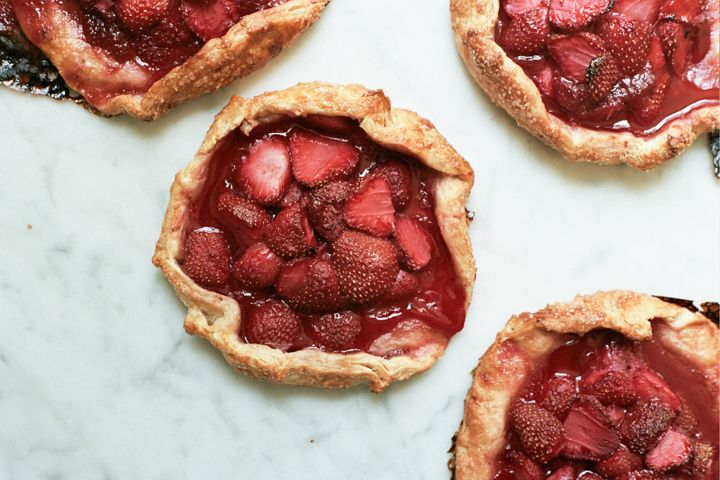 Strawberry Rye Galettes