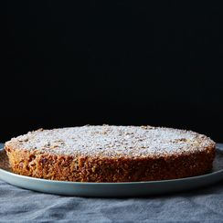 Pecan-Crusted Oat Flour Genoise, No Frosting Necessary