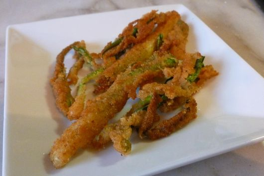 Crispy Fried Scallions