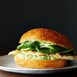 Green Goddess Chicken Sandwiches